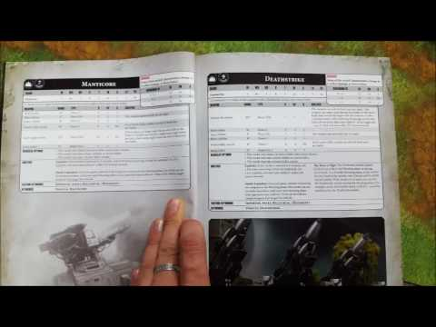 8th Edition Imperial Guard Leaks Part 9: Manticore and Deathstrike