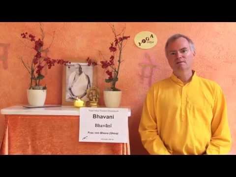 Bhavani -- die Göttin voller Liebe -- Sanskrit Wörterbuch
