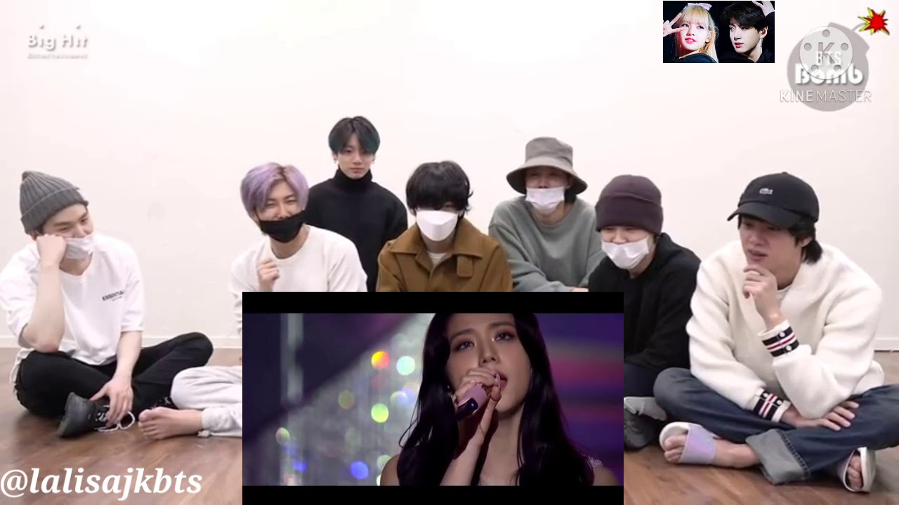 BTS Reaction to BLACKPINK - LOVE TO HATE ME + YOU NEVER KNOW | 2020-2021 [THE SHOW]