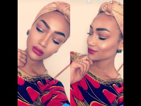 Maquillage+African style
