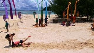 Survivor: Cagayan - Reward Challenge: Kicking & Screaming