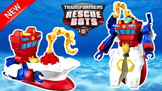 NEW 2016 TRANSFORMERS RESCUE BOTS DEEP WATER RESCUE HIGH TIDE ROBOT TOYS