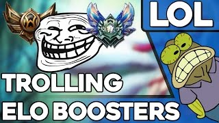 Trolling Elo Boost Adventures - (League Of Legends)(So me and my cousins were humoring the idea of a noob getting elo boosted from bronze to silver. So we started trolling in the elo boost website customer ..., 2016-04-18T05:42:26.000Z)