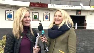 Post Race Interview - Interborough Stakes with Linda Rice