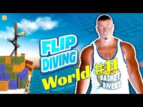 Flip Diving Basketball Diver Old Harbor Candle - by Miniclip | Gameplay (iOS/Android)