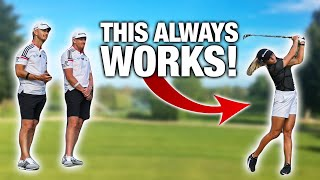 The Easiest Way T๐ DRAW And FADE Your Golf Shots With Sierra Brooks! | ME AND MY GOLF