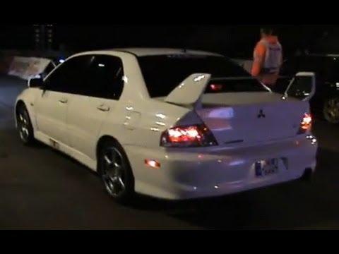 Mitsubishi Lancer EVO VIII Vs. Subaru Impreza WRX STI