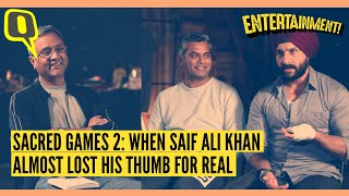 Sacred Games 2: Saif Ali Khan on the Call He Got From Aamir Khan | The Quint
