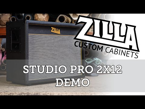 Zilla Cabs - Studio Pro 2x12 - Riverside Studios Bath