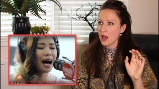 Vocal Coach REACTS TO KATRINA VELARDE-