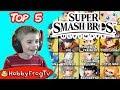 Top 5 Super Smash Bros Ultimate by HobbyFrogTV