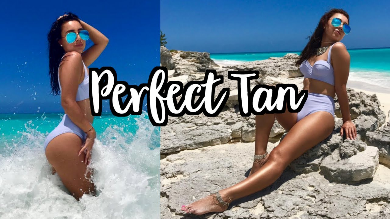 2019 year look- How to get the suntan perfect