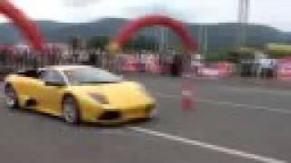 Lamborghini Murcielago Versus Ferrari 599 GTB: Race of Doom.