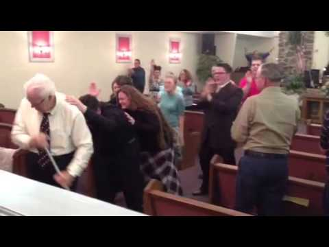 Pentecostal Holy Ghost outpouring
