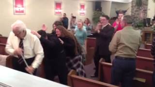 Pentecostal Holy Ghost outpouring thumbnail