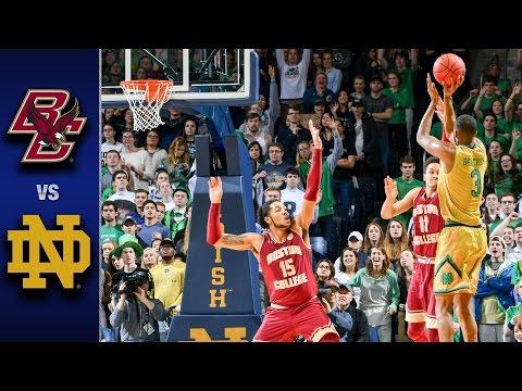 Boston College vs. Notre Dame Men