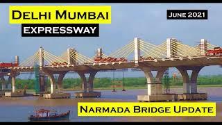 Delhi Mumbai Expressway | Update 12 | Narmada Bridge Update