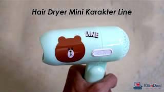 Hair Dryer Mini ONYX 938 Karakter - Pengering Rambut Lipat