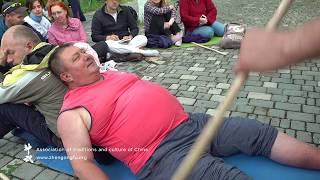 Массаж для похудения палкой и руками Му Юйчунь