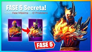 FASE 5 FINAL SKIN OF THE PRISONER!? (Fortnite Last Key Speculation)
