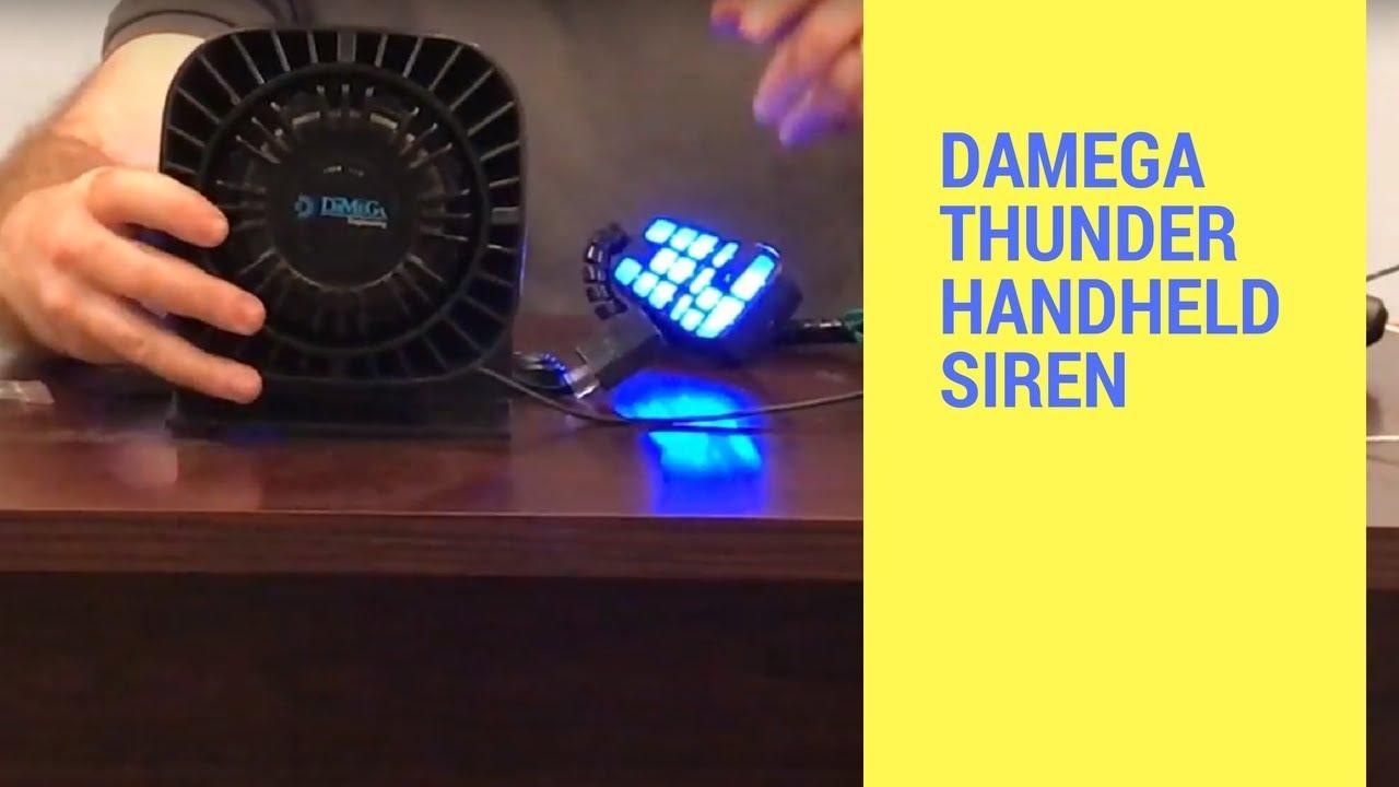led outfitters led lightbars damega thunder handheld siren [ 1280 x 720 Pixel ]