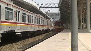 [2019アーカイブ]「KRL JABODETABEK」東京メトロ5017Fジャティネガラ駅を出てボゴール駅へ