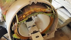 Found gold ring CT scan Old obsolete. For recycling medical devices. There are many hidden gold.