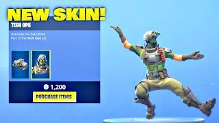 *NEW* TECH OPS SKIN! Fortnite ITEM SHOP [January 24, 2019] | Fortnite Battle Royale