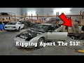 RIPPING Apart The 240sx S13 Interior - Ep. 1 (SBOTB)