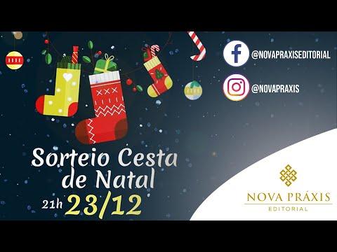 Sorteio: Cesta de Natal ! Realizado dia 23/12 às 21h