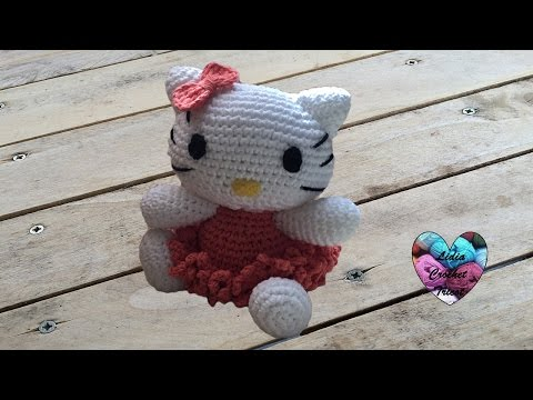 Crocheted Butterfly Hello Kitty with Flowers - free amigurumi ... | 360x480