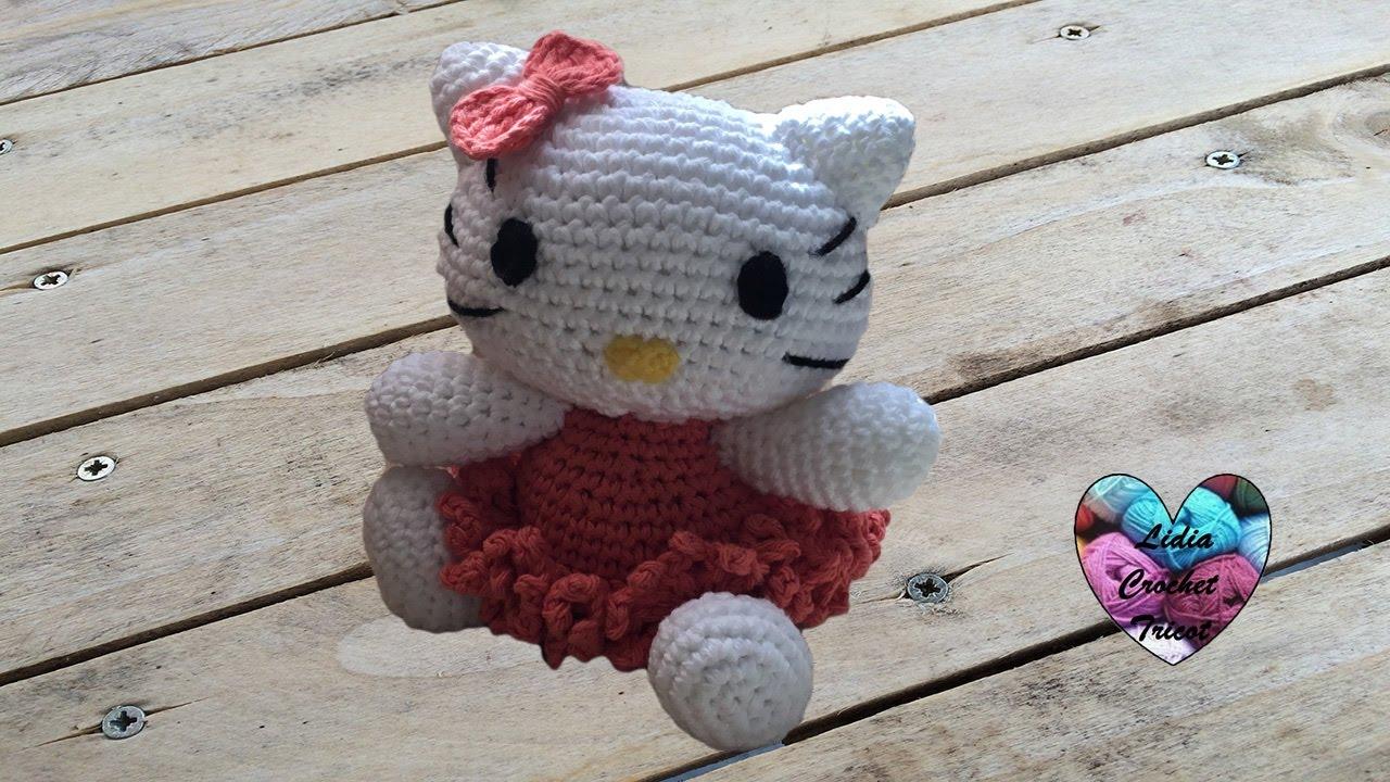 Hello Kitty Amigurumi Crochet Youtube