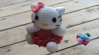 Hello kitty amigurumi crochet