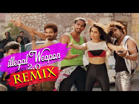 Illegal Weapon 2.0 Remix | Jasmine Sandlas | Varun D, Shraddha K | Dj Drugz | Sajjad Khan Visuals