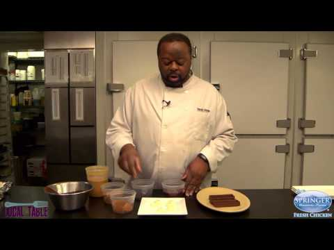 Learn to make a Valentine Dessert with local chocolate from Cacao Atlanta!