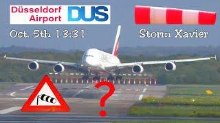 Unbelievable A380 storm crosswind landing - Excellent job or dubious landing?