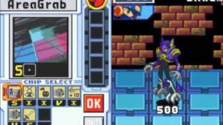 Megaman Battle Network 4 - ShadeMan Alpha