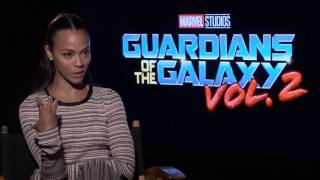 Guardians of the Galaxy Vol. 2: Zoe Saldana Interview