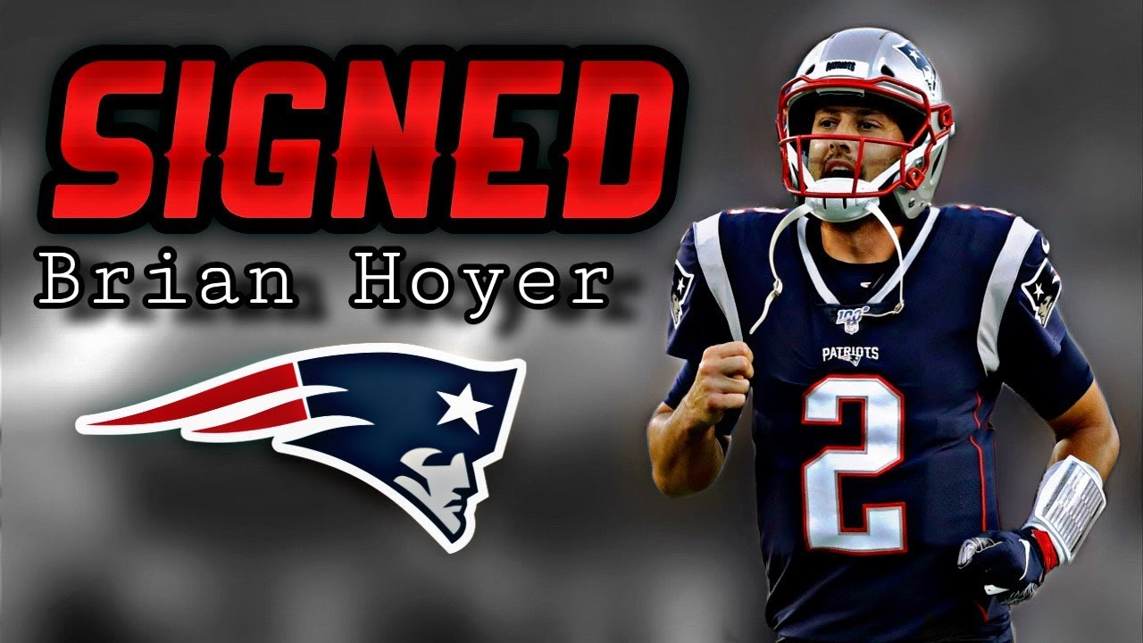 Report: Patriots are signing QB Brian Hoyer