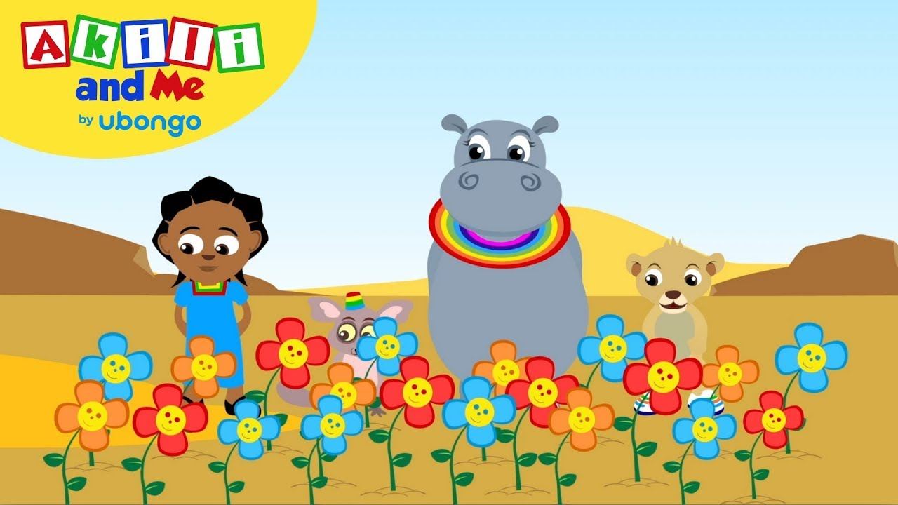 Growing Flowers | Akili and Me | African Cartoons for Preschoolers