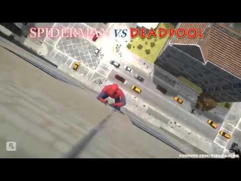 Homem-Aranha vs Deadpool|duelo de titãs