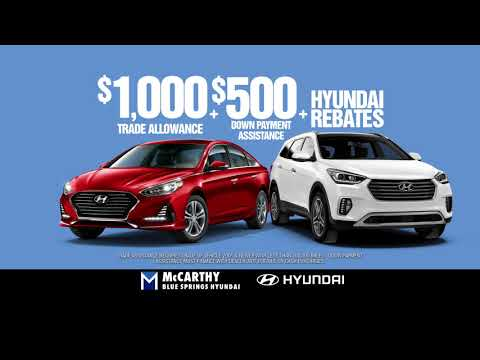 Trade/Down Payment Assistance | McCarthy Blue Springs Hyundai