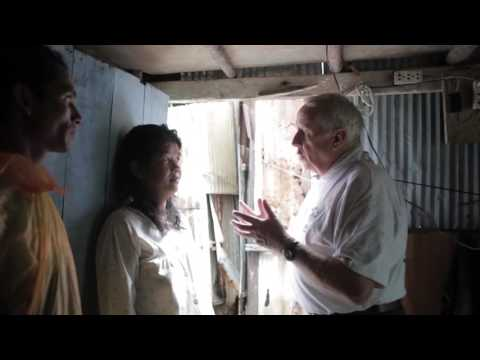Life in Cambodian Slums (Phnom Penh): Interviewing a Slum Re