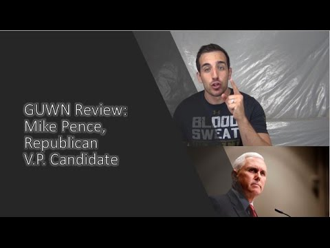 GUWN Presidential Election  -  Mike Pence Republican V. P.  Candidate