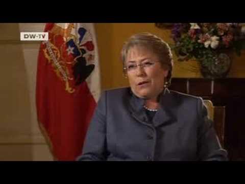 Politik direkt   Michelle Bachelet - Vom deutschen Exil zur chilenischen Staatspräsidentin