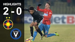Rezumat: FCSB - Viitorul 2-0 (Liga 1, et. 19, ed. 2018-2019)