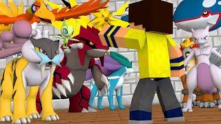 Minecraft: Disputa Pokemon - ESCOLHENDO LENDÁRIOS