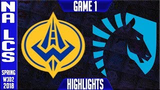 Video GGS vs TL Highlights | NA LCS Week 3 Spring 2018 W3D2 | Golden Guardians vs Team Liquid Highlights download MP3, 3GP, MP4, WEBM, AVI, FLV Agustus 2018
