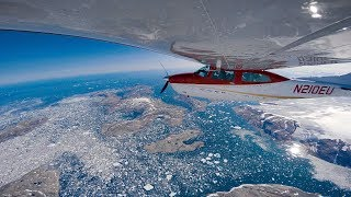 MOST EPIC FLIGHT EVER - Greenland to Iceland