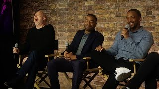 Triple 9 Cast Interview with Chiwetel Ejiofor, Anthony Mackie and John Hillcoat